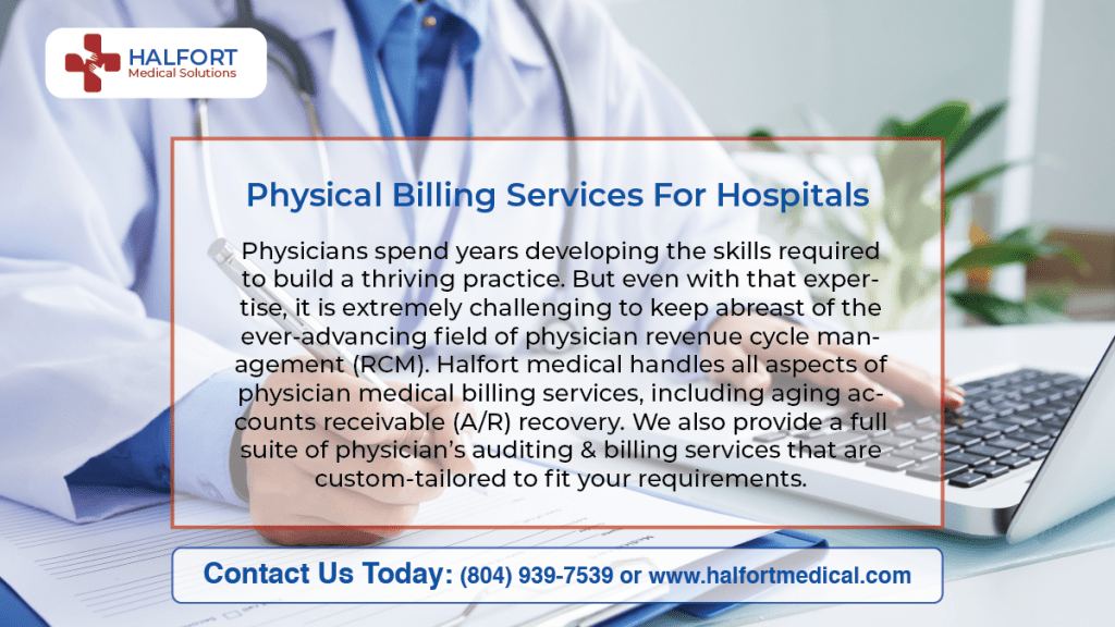 Physician Billing Services for Hospitals